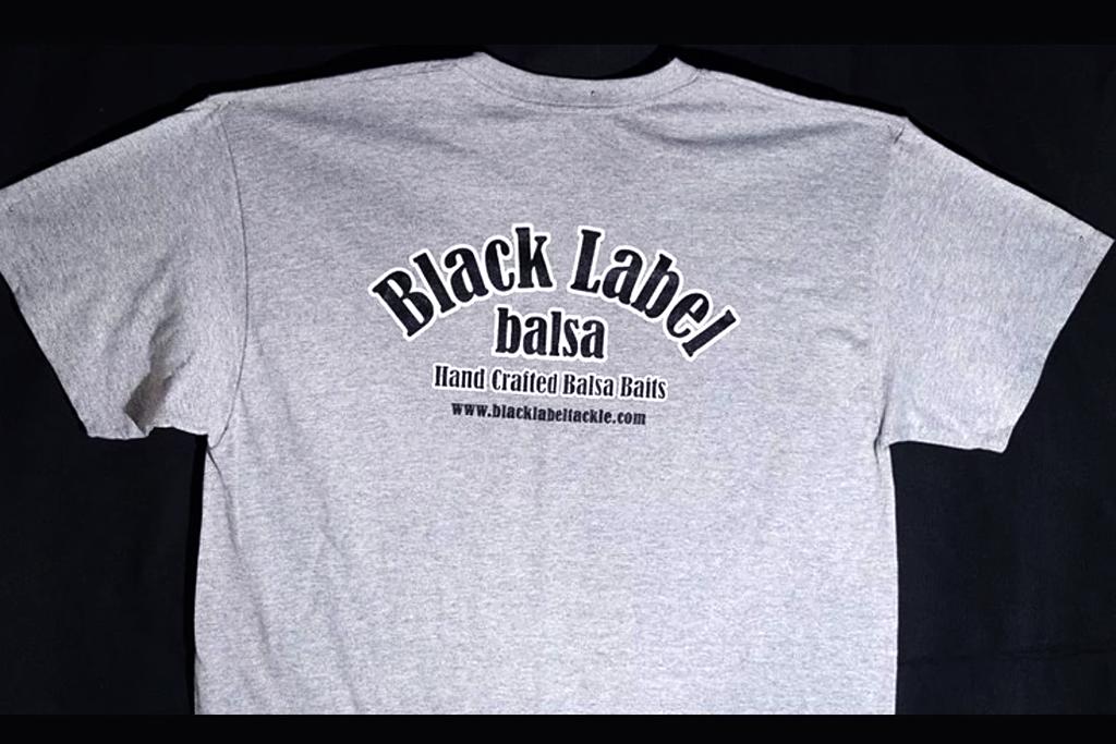 Black Label Tackle Tee Shirt